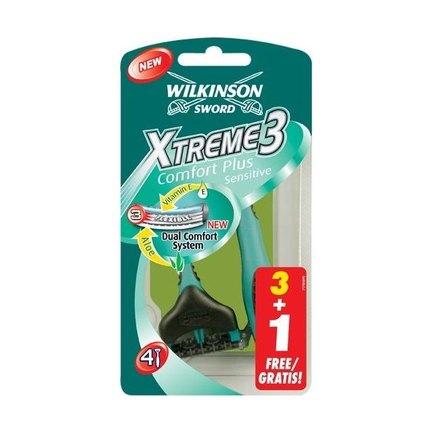 Wilkinson Xtreme3 Sensitive žiletky 3+1 ks