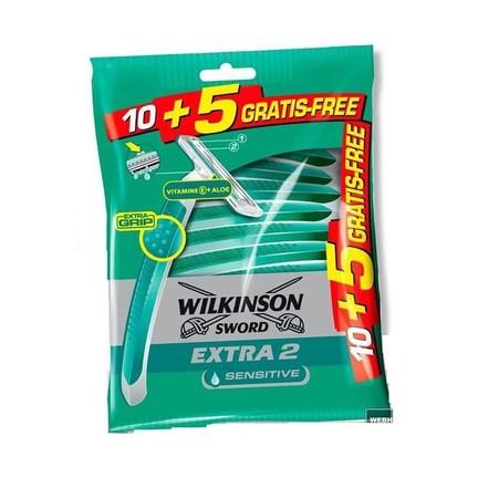 Wilkinson Extra 2 Sensitive žiletky 10+5 ks