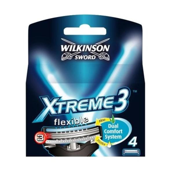 Wilkinson Xtreme3 System náhradné hlavice 4 ks