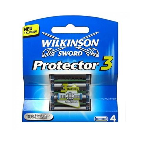 Wilkinson Protector 3 náhradné hlavice 4 ks