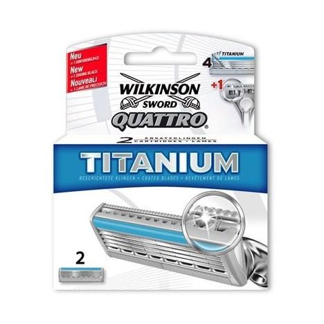 Wilkinson Quattro Titanium náhradné hlavice 2 ks