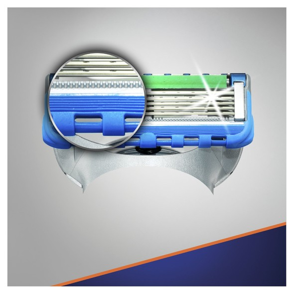 Gillette Fusion ProGlide Power náhradné hlavice 4 ks
