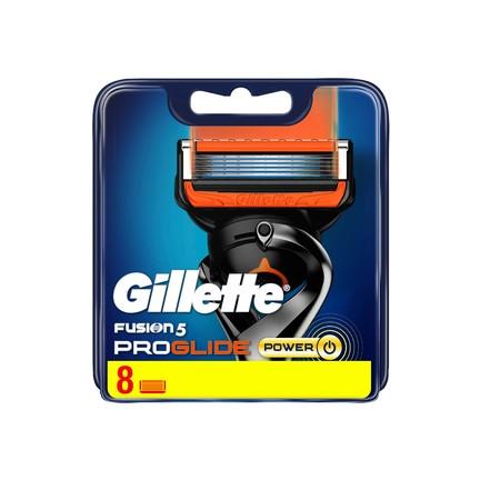 Gillette Fusion ProGlide Power náhradné hlavice 8 ks