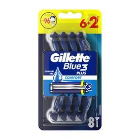 Gillette Blue3 žiletky 6+2 ks