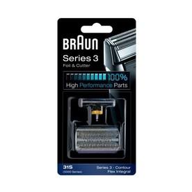 Braun CombiPack FlexIntegral - 31S - strieborné náhradné ostrie