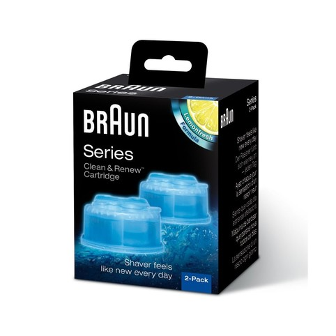 Braun CCR 2 Clean Renew náhradné čistiace náplne 2 ks citron