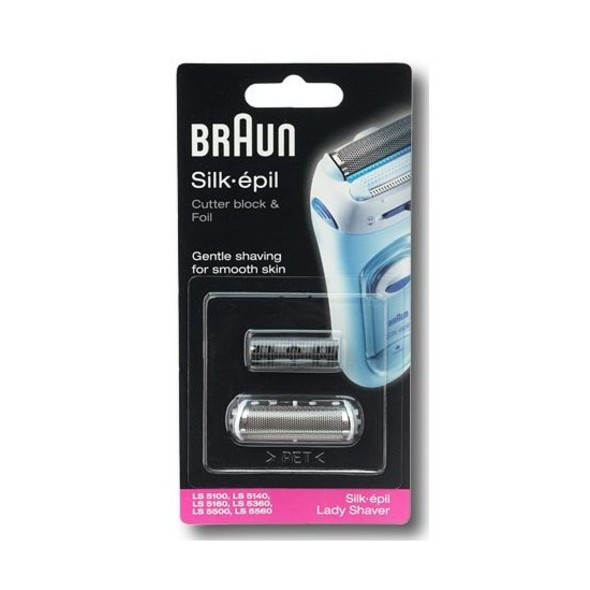 Braun Silk-épil Lady Shaver náhradná fólia & holiaci blok
