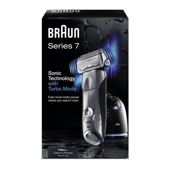 Braun Series 7-799cc-7 Wet&Dry holiaci strojček - mierne poškodený obal