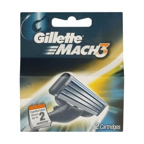 Gillette Mach3 náhradné hlavice 2 ks