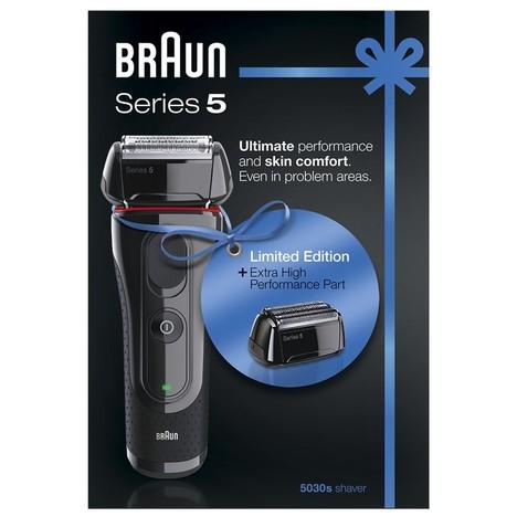 Braun Series 5-5030s holiaci strojček + 52B náhradná planžeta