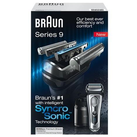 Braun Series 9 9095cc Wet&Dry holiaci strojček - ROZBALENÝ