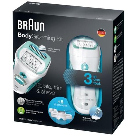 Braun BGK7090 Body Grooming Kit epilátor pre mužov