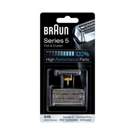 Braun CombiPack Series5 - 51S brit + folie - ROZBALENÝ