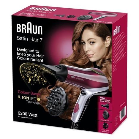 Braun Satin Hair 7 Colour Saver HD 770 fén na vlasy