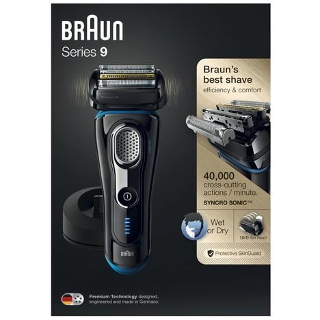 Braun Series 9 9240s Wet&Dry holiaci strojček