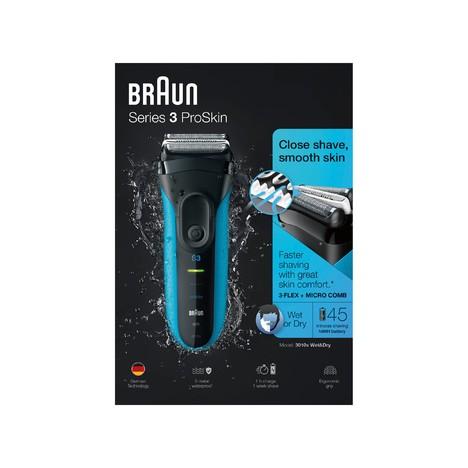 Braun Series 3 3010s Wet&Dry holiaci strojček