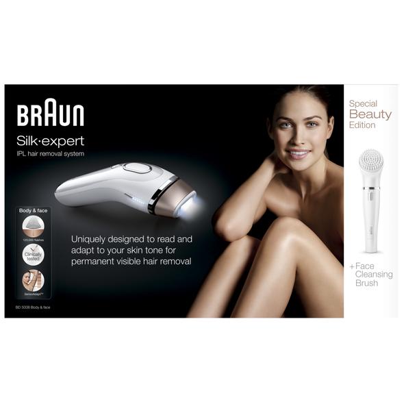 Braun BD5008 Body&Face IPL epilátor - 120 000 zábleskov