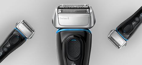 Poďte si vybrať medzi holiacimi strojčeky Braun Series 8