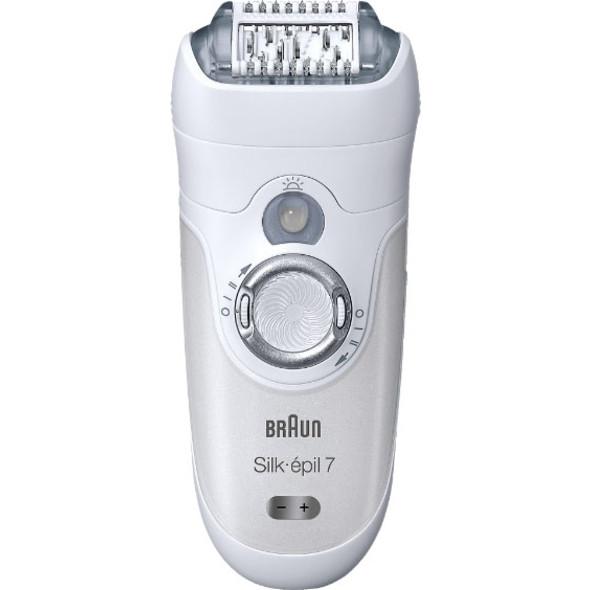Braun Silk épil 7-561 Wet&Dry epilátor + bikiny zastrihávač