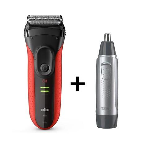 Braun Series 3 3030s + hygienický zastrihávač EN10