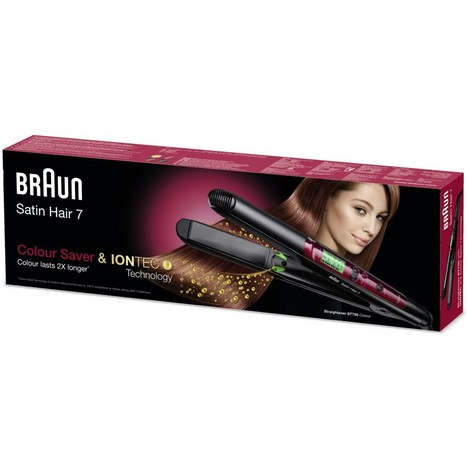 Braun Satin Hair 7 Colour Saver ST750 žehlička na vlasy