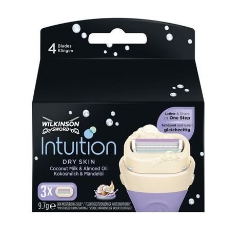 Wilkinson Intuition Dry Skin náhradné hlavice 3 ks
