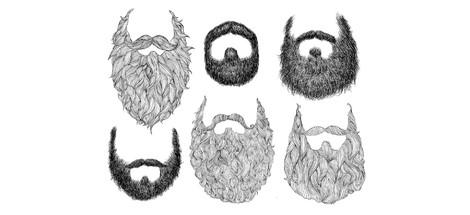 Fúzy, briadky, brady v prúde času