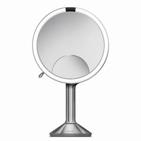 Simplehuman ST3024 kozmetické zrkadlo, STRIEBORNA