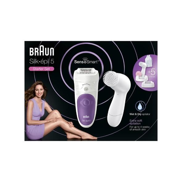 Braun Silk épil 5 5-870 SensoSmart Wet&Dry epilátor