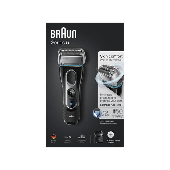 Braun Series 5 5195cc Wet&Dry holiaci strojček