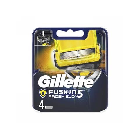 Gillette Fusion 5 ProShield náhradné hlavice 4 ks