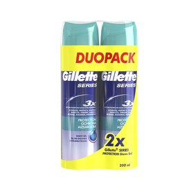 Gillette Series Protection gél na holenie 2×200 ml