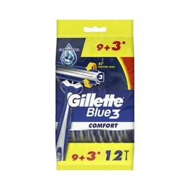 Gillette Blue 3 Comfort jednorazová holítka 12 ks