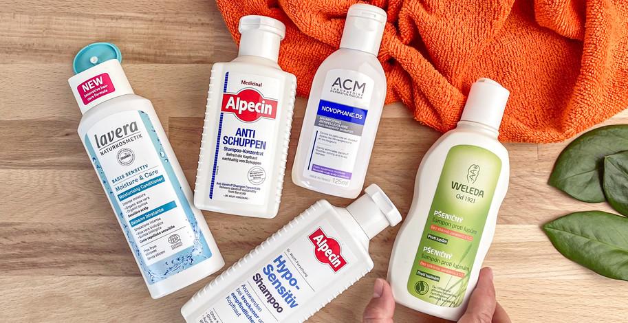 Šampóny proti lupinám