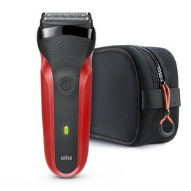 Braun Series 3 300TS Red holiaci strojček