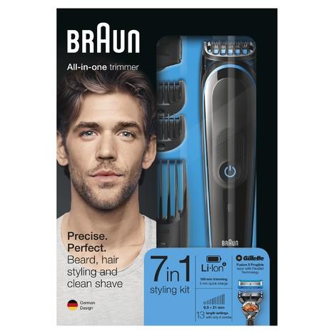 Braun All-in-one trimmer MGK5045 zastrihávač vlasov a fúzov