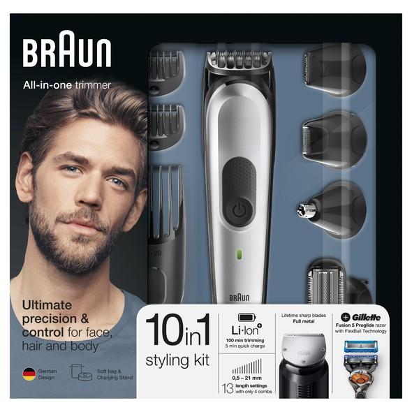 Braun All-in-one trimmer MGK7020 viacúčelový zastrihávač