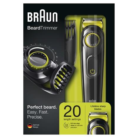 Braun Beard Trimmer BT3021 zastrihávač fúzov
