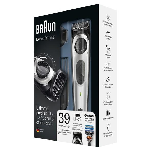 Braun Beard Trimmer BT5065 zastrihávač fúzov a vlasov