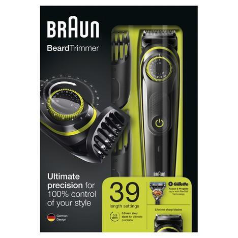Braun Beard Trimmer BT3041 zastrihávač fúzov