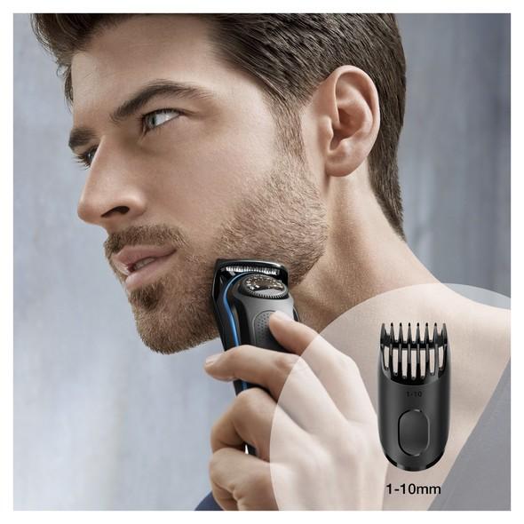 Braun Beard Trimmer BT3940TS zastrihávač fúzov a vlasov