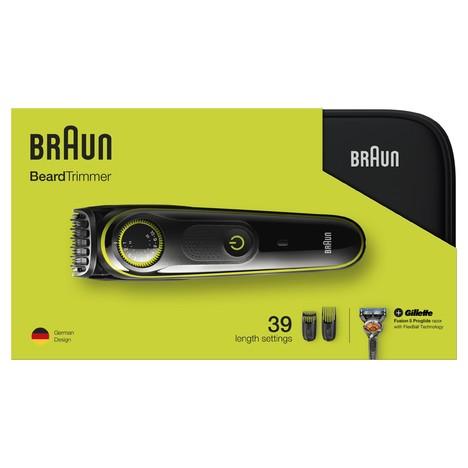 Braun BT3941 zastrihávač fúzov a vlasov