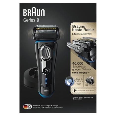 Braun Series 9 9242s Wet&Dry holiaci strojček