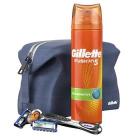 Gillette Fusion 5 ProGlide FlexBall darčekový set v kozmetickej taške
