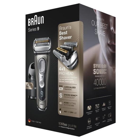Braun Series 9 9365cc Wet&Dry holiaci strojček