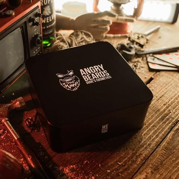Angry Beards sada produktov na fúzy
