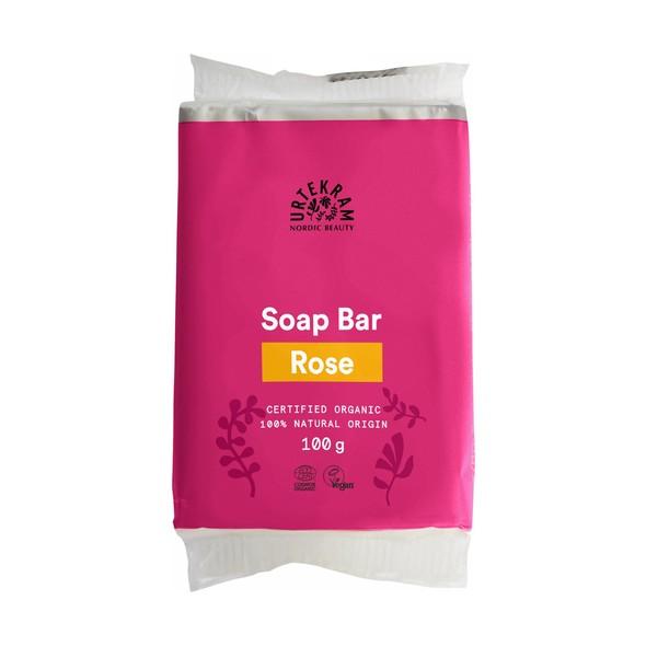 Urtekram Soap Bar Rose tuhé mydlo 100 g