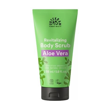 Urtekram Body Scrub Aloe Vera telový peeling 150 ml