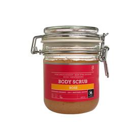 Urtekram Body Scrub Rose telový peeling 450 g