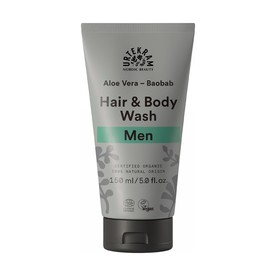 Urtekram Men Hair&Body Wash spchový gél a šampon 150 ml